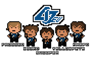 Pixel Counter Logic Gaming by Pixel-League