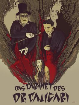 Das Cabinet Des Dr. Caligari by olafex