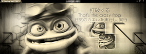Cover for  Facebook - Crazy Frog by xJapaDesign