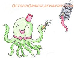 Octopi as Doctor Who characters by OctopusOrange