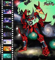 HEAVEN PIERCING  Gurren Lagann by Pinoy0A