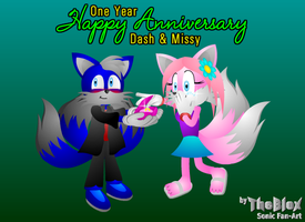 Happy Anniversary D+M -gift- by TheBlox