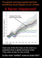 The Global Warming Experts Were Wrong by Thalergard