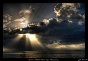 Sunset in Belize HDR by JohnDoe6