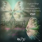 Wings Butterfly Glitter PSD by Maryneim