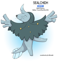 Pokemon Albion Region: #008 Sealchidh by sweetkimothy