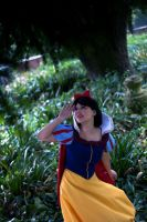 Snow White - Run in the scary black forest by falketta