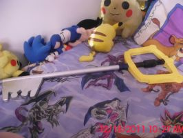 Keyblade Replica - Kingdom Key by TheCoolCosplayer22