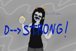 STRONG!!! by Aishou-Kurami