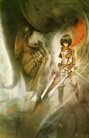Attack on Titan- Enveloped in Steam by hungerartist