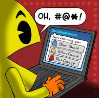 Pacman on Twitter by scotthampson