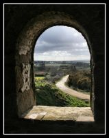 Through the arch window by Kernow-Photography