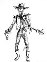 Ambulitory Scarecrow by aquilianranger