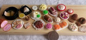Miniature christmas food by RoOsaTejp