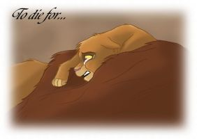 Lion king - To die for by Akita-or-Aki