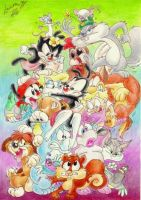 Animaniacs Pile by CillaIsInTheSellar