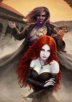 Seraphim: Mea Culpa -book 2 Cover Illustration by fantasio