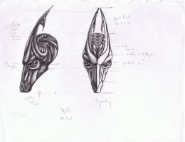 Organic Dragon Head Concept by darthbaio