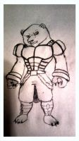My polar bear drawing. its time 4 all new by GeoEG