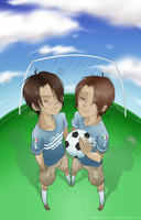 APH - Football by MilkMao