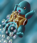 Squirtle - Pokemon 151 Challenge by Chicorii