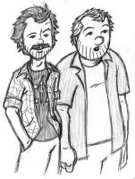 Earl and Randy Hickey by stevendanger