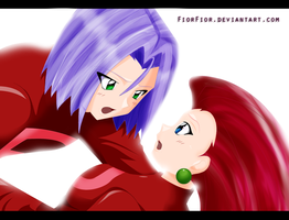 Jessie and James by FiorFior