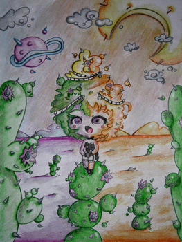 Lady Cactus by LolitaTequila