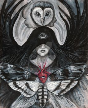 Witch Essence Series: The Seer by meddevi