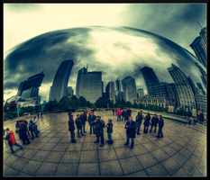 Me at the bean by Karl-B