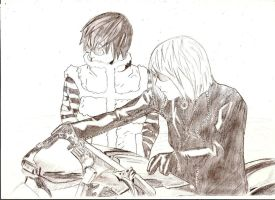 Mello and Matt by A-Black-Angel