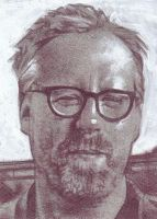 Adam Savage Sketch Card by JeffLafferty