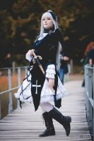 Suigintou Cosplay 1/4 by Psunna