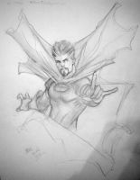 Doctor Strange sketch by Csyeung