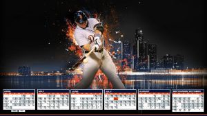 Miguel Cabrera - Detroit Tigers Schedule HD by madeofglass13