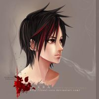 Sigkra - red cigarette by soul-core