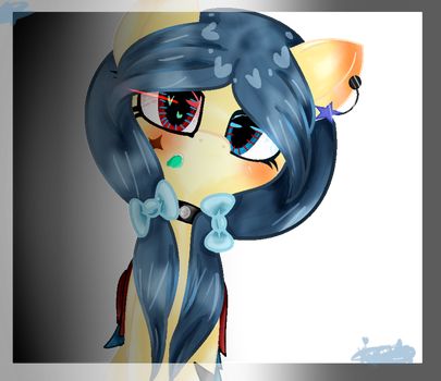 Sweet Blue by VioletCakeConCrema