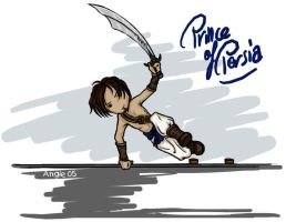 Chibi Prince of Persia by ValkAngie