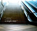 A single step by vibrant-appeal
