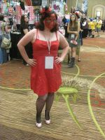 Animefest '12 - Bloody Faced  Girl by TexConChaser