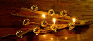Menorah by harrietsfriend