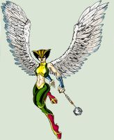 Hawkgirl by Toadman005