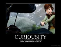 Hiccup curiousity by CronaDragonTrainer