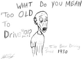 Too Old by SINGLETON930