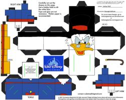 Dis32: Scrooge McDuck Cubee by TheFlyingDachshund