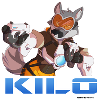 Kilo Badge by faster-by-choice