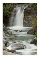 Wanaka Waterfall by anjules