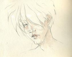 Heartache Heero by LinkWorshiper