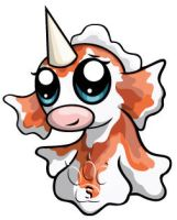 Goldeen Chibi by RedPawDesigns