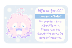 Pay to MYO Octopuff! [ 300 Points / $3.50 USD ] by Sarilain